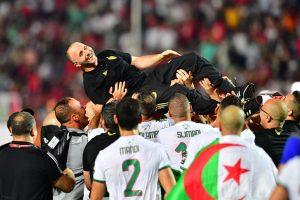 Victoire collective et solidaire algérienne